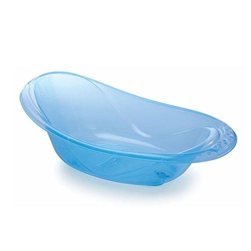Banheira Infantil, 20 L, Adoleta Bebê, Azul Translúcido