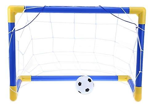 Kit Trave E Bola Infantil Chute A Gol Com Rede Brinquedo Futebol, Gimp